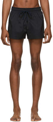 Vilebrequin Black Solid Man Swim Shorts