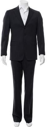 Versace Wool Pinstripe Suit w/ Tags
