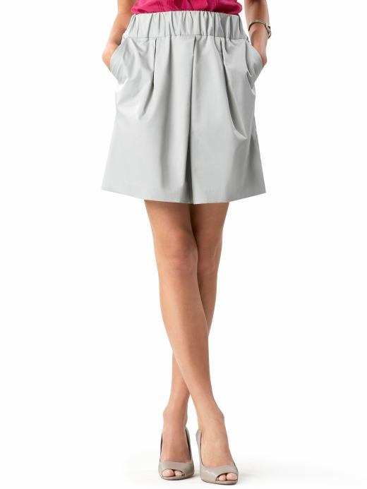 Petite cotton essential skirt