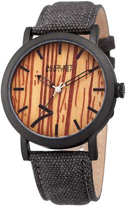 August Steiner Men's Canvas Watch