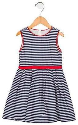 Rachel Riley Girls' Striped A-Line Dress