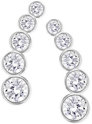 Swarovski Multi-Crystal Ear Climber Earrings