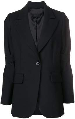MM6 MAISON MARGIELA strap-sleeved blazer