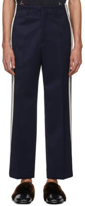 Gucci Navy Cavalry Trousers