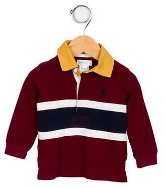 Ralph Lauren Boys' Plaid Button-Up Top