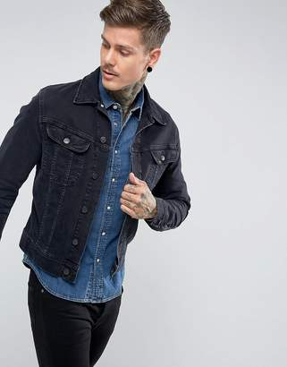Lee rider jacket slim vintage fit blue black