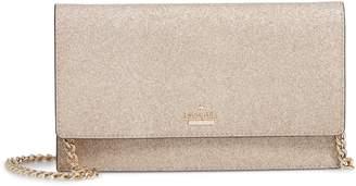 Kate Spade Burgess Court - Brennan Glitter Leather Crossbody Clutch