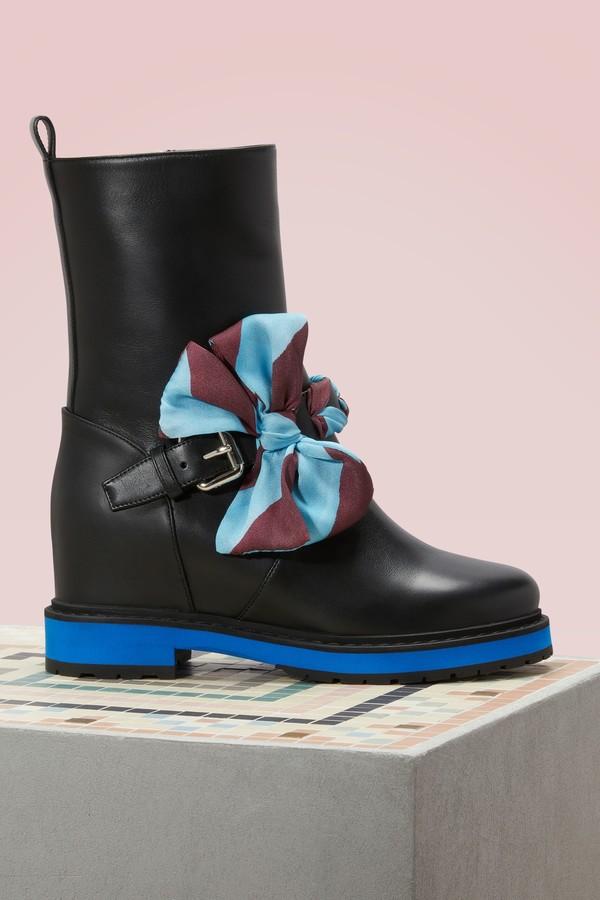 Fendi Ribbon boots