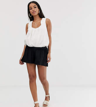 Asos (エイソス) - Asos Maternity ASOS DESIGN Maternity under the bump culotte shorts