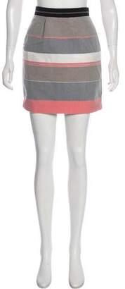 Jonathan Simkhai Striped Mini Skirt