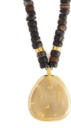 Joelle Gagnard KHARRAT Cactus gold-plated necklace