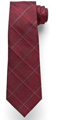 Marc Anthony Subtle Plaid Tie - Men