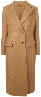Ermanno Scervino long double-breasted coat