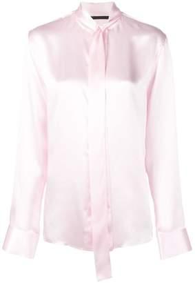 Haider Ackermann ribbon tied blouse