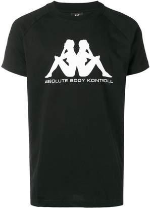 Kappa Kontroll logo print T-shirt
