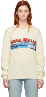 Simon Miller Off-White Tynan Long Sleeve T-Shirt