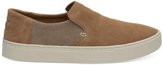 Toms Lomas Leather Slip-On