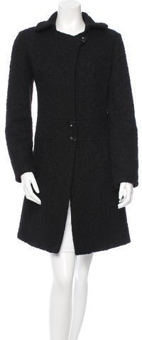 Chloé Chloé Textured Knee-Length Coat