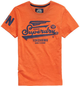 Superdry Men's High Flyers Logo-Print T-Shirt
