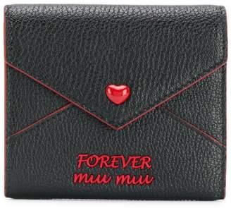 Miu Miu  Forever miu miu  wallet 55c300d71af48