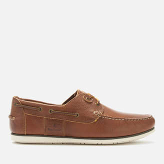 f9bfb25e2d4564 Barbour Men s Capstan Leather Boat Shoes