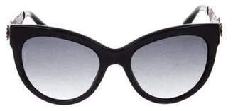 Dolce & Gabbana Gradient Cat-Eye Sunglasses