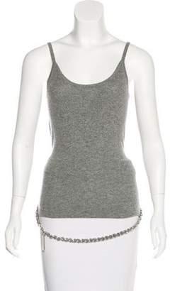 Michael Kors Embellished Cashmere Top