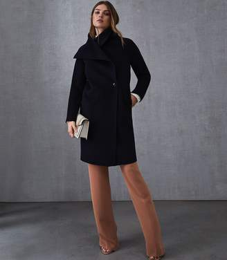 Reiss Antonia Wrap Collar Coat