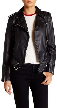 Walter W118 by Baker Allison Sheep Leather Moto Jacket
