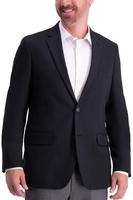 Haggar Men's Active Series Tailored-Fit Stretch Blazer