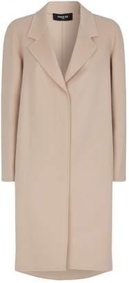 Paule Ka Cashmere-Wool Bow Coat