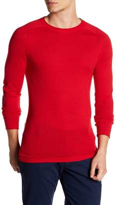 Parke & Ronen Elbow Patch Long Sleeve Sweater