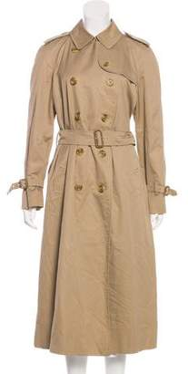 Burberry Double-Breasted Trench Coat
