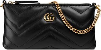 GG Marmont chain mini bag $495 thestylecure.com