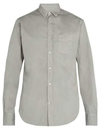 Officine Generale Cotton-piqué shirt
