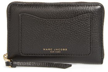Marc JacobsWomen's Marc Jacobs Small Recruit Standard Continental Wallet - Black