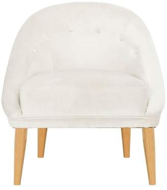 Safavieh Hopkins Velvet Club Chair