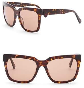 Joe's Jeans Women's Oversized 58mm Sunglasses