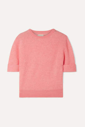 KHAITE Lydia Cashmere-blend Sweater - Baby pink