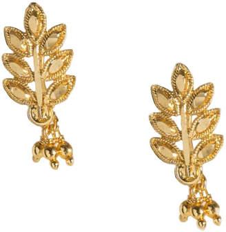 Haati Chai Dev Leaf Earrings