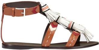 Tory Burch Weaver Flat Sandals