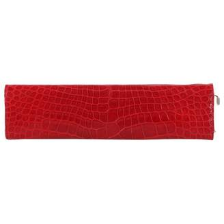 Gucci Red Exotic leathers Clutch bags