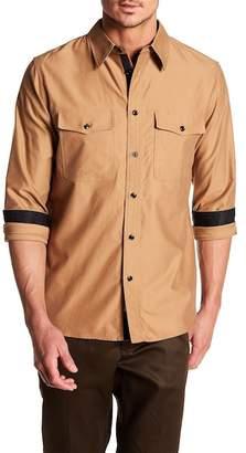 Rag & Bone Jack Long Sleeve Slim Fit Shirt