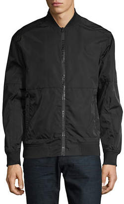 Kenneth Cole New York Zip Bomber Jacket