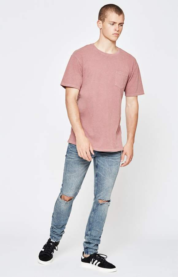 PacSun Skinny Comfort Stretch Processed Indigo Jeans
