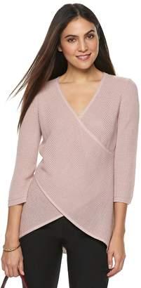 Apt. 9 Women's Surplice Sweater