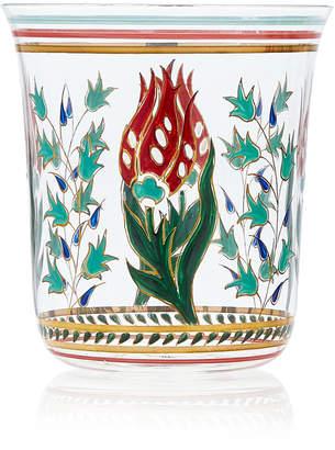 Lobmeyr Persian No. 1 Handpainted Floral Motif Tumbler