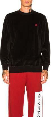 Givenchy 4G Sweatshirt in Black | FWRD