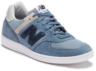 New Balance Contrast Suede Sneaker