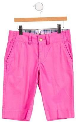 Ralph Lauren Girls' Mid-Rise Knee-Length Shorts w/ Tags
